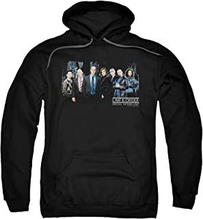 Law & Order SVU Crime Legal Drama TV Series NBC Cast Adult Pull-Over Hoodie