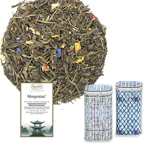 Ronnefeldt Morgentau - 500g mit Erlesener Teedose - Grüntee