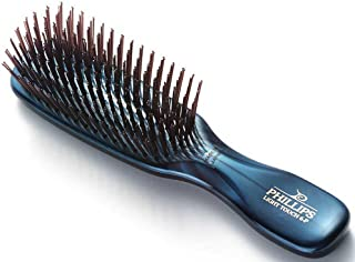 Phillips Brush Emerald Light Touch 6 Hair Brush - Part of the Gem Collection
