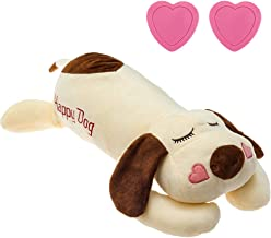 Dog Heartbeat Toy for Anxiety Relief, Calming Puppy Behavioral Training Aid Toy Puppy Dog Pals Toys Pet Companion Pillow
