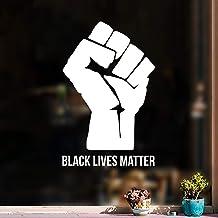 Vinyl Wall Art Decal - Fist Black Lives Matter - 25