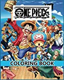 One Piece Coloring Book: Anime Coloring Book for Luffy and his crew and others (8 x 10)