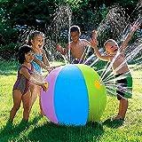 Pumpink 75cm inflable pelota de playa de PVC de agua globos bolas del arco iris-color del verano de la playa Piscina Juguetes Tierra Juego de Agua Water polo Lucha de la bola de agua Batalla pelota de
