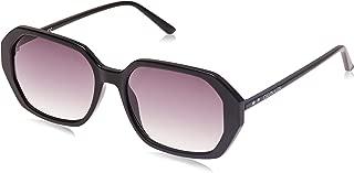 Calvin Klein Square Essentials Black Sunglasses-55