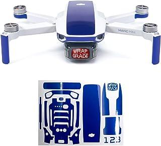 Wrapgrade Skin kompatibel med Mavic Mini | Accentfärg (STRATOSPHERE BLUE)