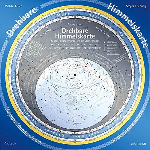 Drehbare Himmelskarte: Zu jeder Stunde wissen, wo die Sterne stehen