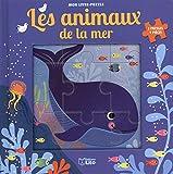 Mon livre puzzle 9 pièces: Les animaux de la mer - Dès 2 ans
