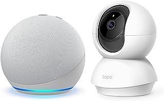 Echo Dot グレーシャーホワイト + TP-Link ネットワークカメラTC70