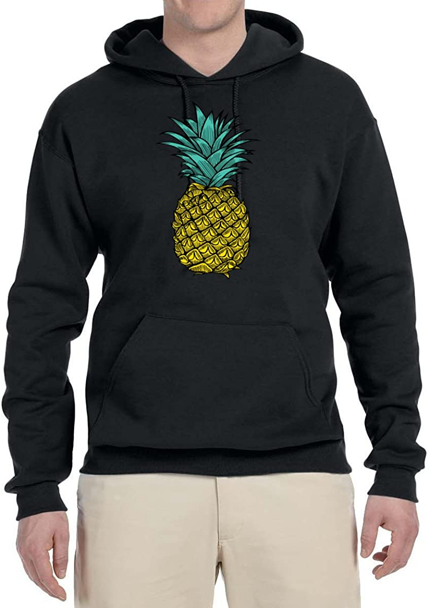 Wild Ranking TOP17 Bobby Trendy Tropical Large-scale sale Pineapple Sweat Fashion Mens Hooded