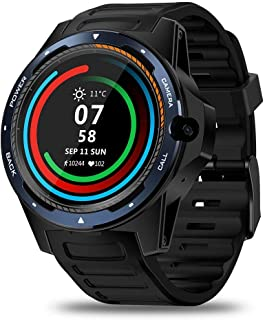 Gymqian Fitness Tracker Thor 5-Bis-Chip Dual System Smart Watch Pulsera 800 Millones Píxeles Long Standby 2 + 16G Sport Fitness Tracker Exquisito/D