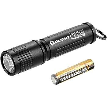 OLIGHT 90 Lumens i3E EOS PMMA TIR Lens AAA Flashlight Compact Keychain Flashlite EDC Flashlight