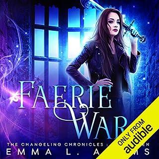 Faerie War audiobook cover art