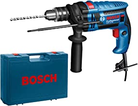 Bosch - Taladro Percutor 600W. 13Mm. Con Maleta Gsb13Re