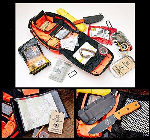 Buy ESEE Advanced Survival Kit Orange