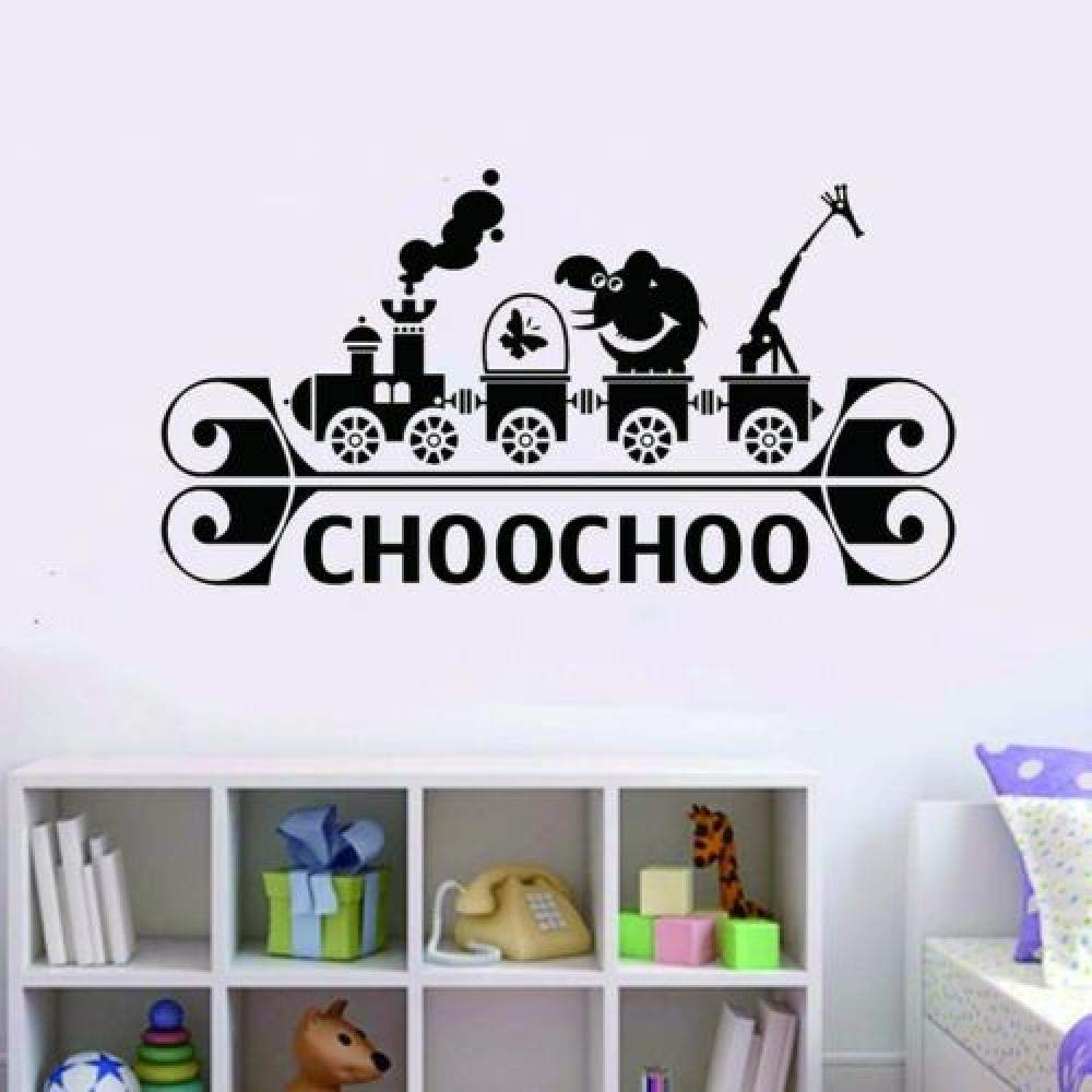 DDSYJ 3D Wall Stickers Elephant Special price for a limited time Decals Art Low price Giraffe Train Vi