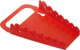 Ernst Manufacturing Gripper Wrench Organizer, 7 Tool, Red