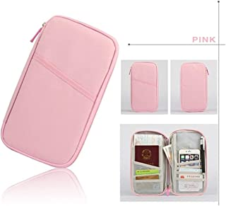 Passport Cover Organizer Clutch Money Bag Multifunction Credit Id Card Holders Cash Wallet