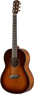 Yamaha CSF1M Guitarra Acústica con Sonido Potente y de Riqueza Armónica, Aspecto Elegante, Adecuada para Viajar, Color Marrón (Sombreado tabaco oscuro)