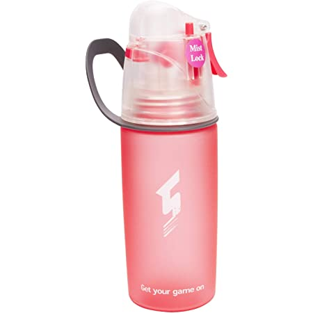 Outdoor Sports Mist Spray Water Bottle Hiking Bicycle Car Portable Drinking Cup