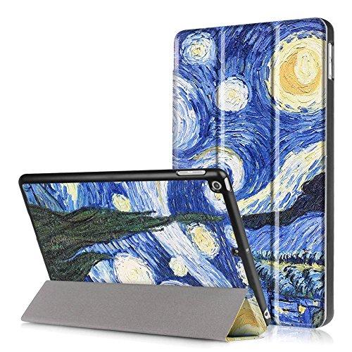 Carcasa para Tablet iPad 9.7pulgadas 2017, funda de piel sintética estilo libro. Funda de piel Para Apple Nuevo iPad 9.7pulgadas En piel con soporte (Fisher Girl). #2 Stelle
