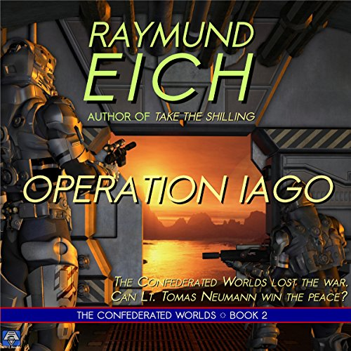 Operation Iago audiobook cover art