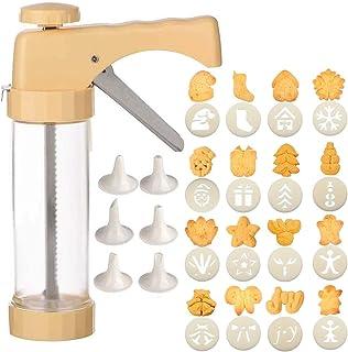 Bugucat Presse à biscuits,seringue à pâtisserie,seringue à pâtisserie,machine à biscuits,presse à biscuits,bricolage,acces...