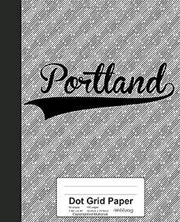 Dot Grid Paper: PORTLAND Notebook (Weezag Dot Grid Paper Notebook)