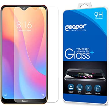 Tempered Glass Scratch Resistant Khaos Screen Protector for Xiaomi Redmi 8 //Redmi 8A 4 Pack Bubble Free Screen Protector