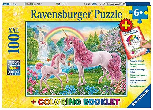 Product Image of the Ravensburger 13698 Magical Unicorns Jigsaw Puzzles