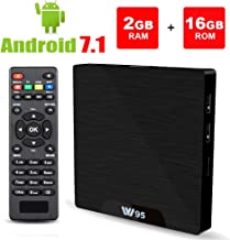 Android 7.1 Smart TV Box - Viden W95 2018 New Generation Android TV Box with Amlogic S905W 64Bits Quad-Core, 2GB+16GB, Built-in Wi-Fi, HDMI Output, USB2, 4K UHD Web TV Box