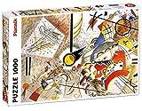 Piatnik - 5396.0 - Puzzle Kandinsky - Bustling Aquarelle - 1000 Pièces