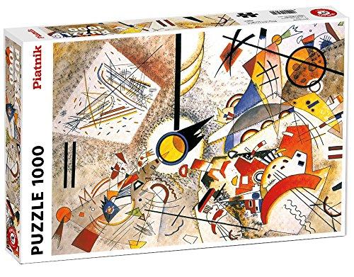 Piatnik 5396 - Kandinsky, Bustling Aquarelle - Puzzle