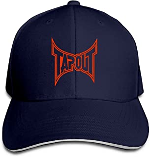 Sincerity First Unisex Tap Out Fashion Peaked Cap Baseball Cap for Travel/Sports