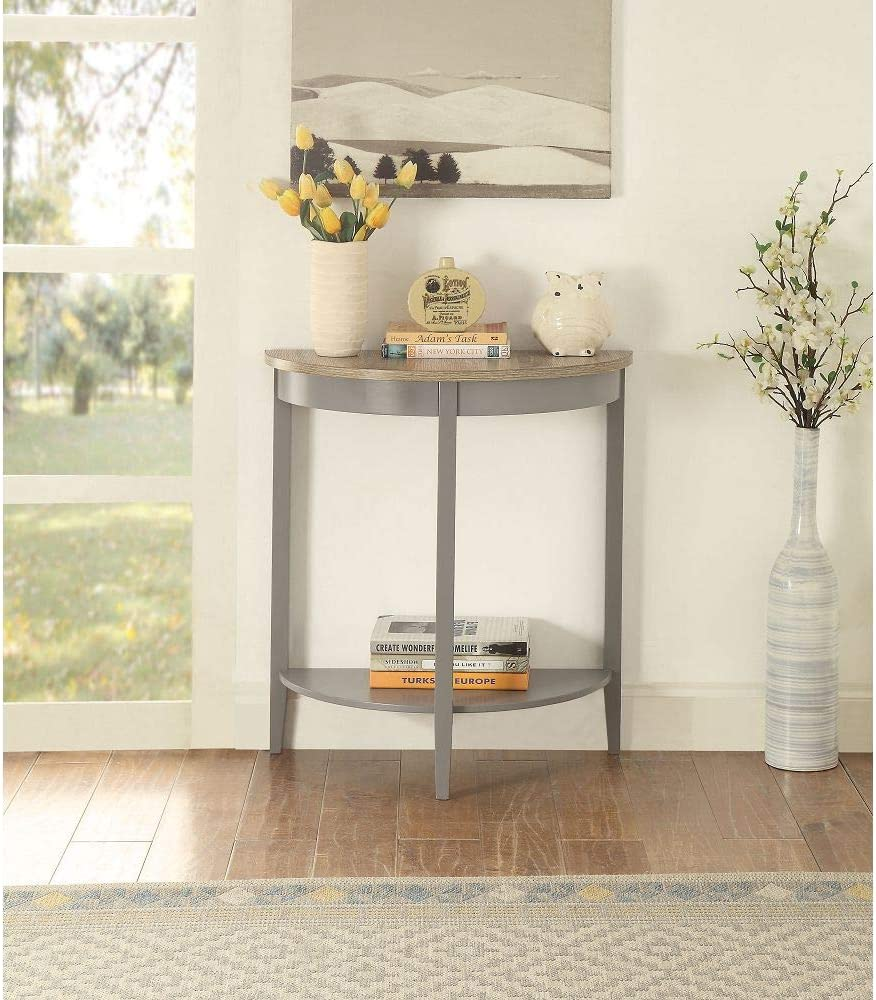 Knocbel Half Moon Ranking TOP20 Console Table Side Sofa Hallway Large-scale sale for Entryway