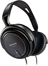 Philips SHP2000 - Adjustable Over-Ear Stereo Corded Audio Headphones
