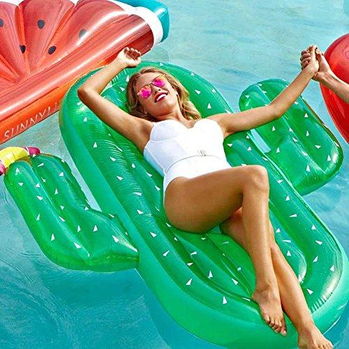 Kaktus Luftmatratze Pool Schwimmgerät Aufblasbare Luftmatratze Pool Party für Erwachsene & Kinder