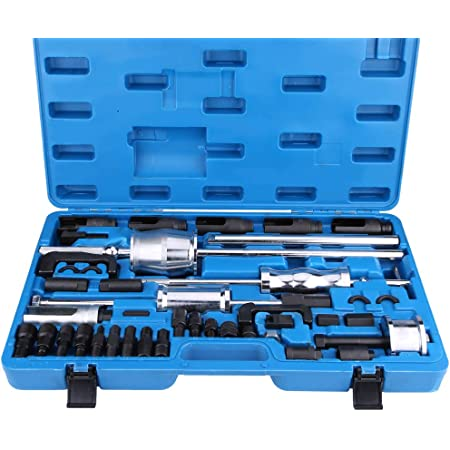 18Pcs Engine Injector Removal Puller Kit Injector Puller Remover Installer Tool Set Fit for FSI Petrol European Vehicles