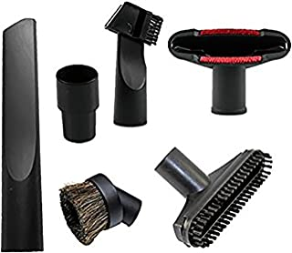Best Wonlives Central Vacuum Hose Vacuum Attachments Accessories 32mm (1 1/4 inch) to 35 mm Brush Nozzle Crevice Tool for Standard Hose Review