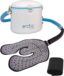 کرایوتراپی - گردش آب یخ درمانی شخصی با سرماخوردگی توسط یخ قطبی - با پد جهانی برای زانو ، آرنج ، شانه ، کمردرد ، تورم ، اسپری ، التهاب ، صدمات ، مراقبت های بعد از جراحی