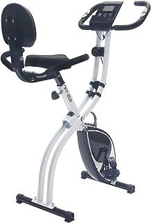 Nyana Fit | Bicicleta Estática Plegable Spinfold | Sillín Confort + Sujección | Resistencia Variable | Rodamientos Magnéti...