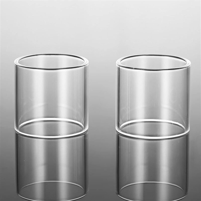 Pang-qingtian 2pcs Reemplazo de Tubo de Vidrio Fit para Vaporesso Armor Fit para Pro Fit para Kit Polar Tanque de Vidrio EU (Color : Fit for Polar Kit 6.5ml)