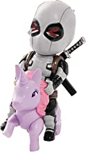 Beast Kingdom JUN188592 Marvel Comics Mea-004 Deadpool Pony (X-Force Version) Mini Egg Attack Action Figure, Multicolor