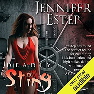 Deadly Sting audiobook cover art