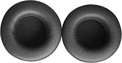 Luxuray Replacement Leather Earpad Ear Pad Ear Cushion Cup Earmuffs Repair Parts for Yamaha HPH-PRO400 HPH-PRO500 RH-40M Headphones