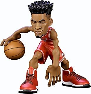 ICONai Small-Stars JIMMY BUTLER 11-inch Smart Collectible Figure [ Chicago Bulls Road Uniform - Red ] NBA 2016-17 Edition MUSEUM-QUALITY COLLECTIBLE BOX PACK