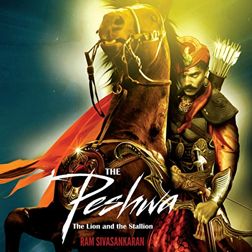 The Peshwa audiobook cover art