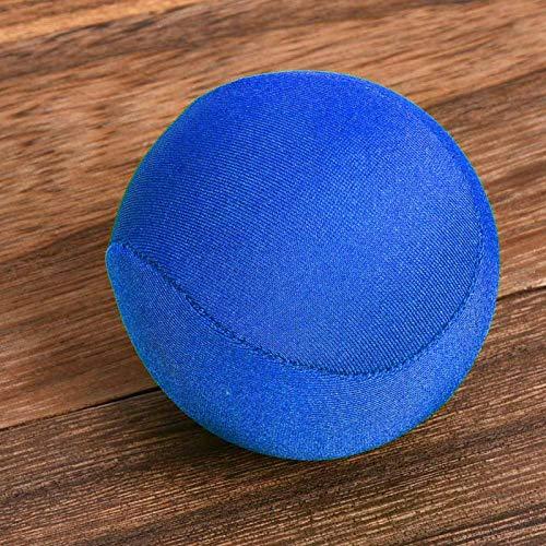 Bola de entrenamiento de fuerza de agarre Bola de ejercicio de mano Impermeable Ligero Promueve la circulación sanguínea(blue)