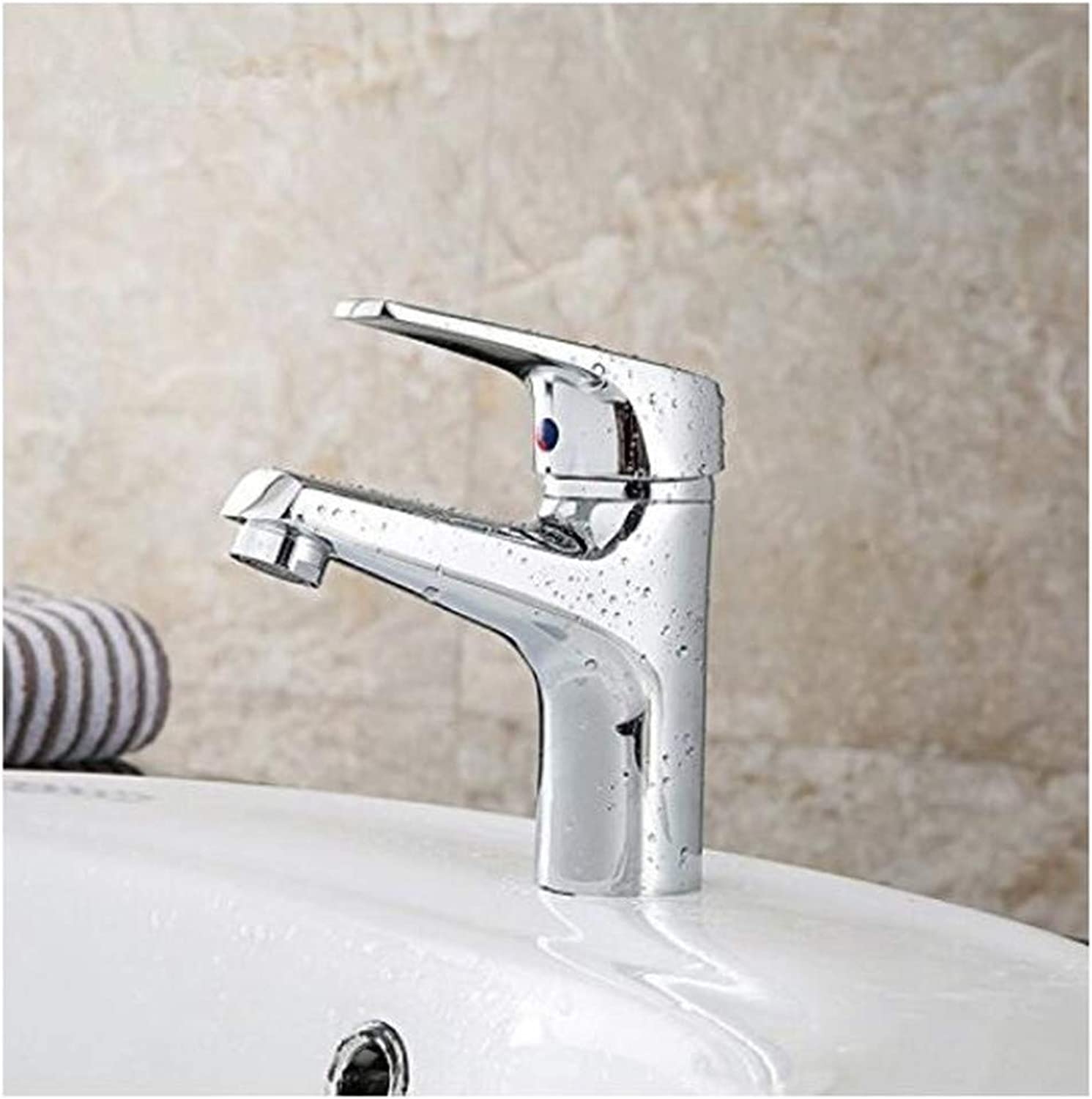 Faucet Luxury Modern Mixer Faucet Full Copper Faucet Hot and Cold Single Hole Basin Faucet