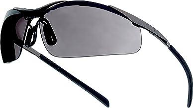 """Bollé Safety CONTMPSF """"Contour Metal"""" veiligheidsbril met smokglazen, eenheidsmaat"""