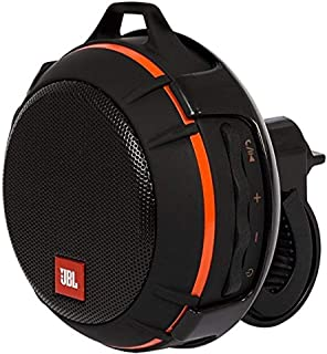 JBL Wind Portable Bluetooth Speaker with FM Radio and Supports Micro SD Card (Black)